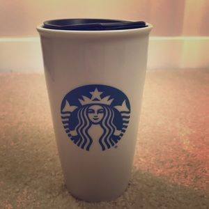 Starbucks ceramic coffee cup